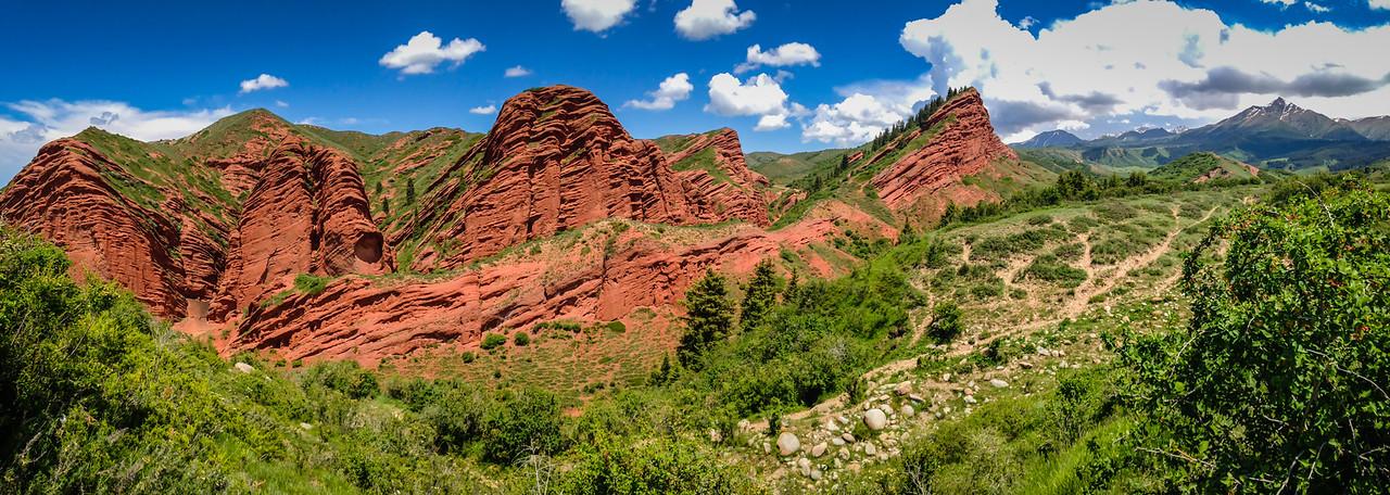 Dragon Gorge, near Jeti Oguz, Kyrgzystan